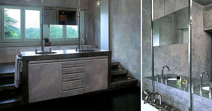 Rivestimenti in cemento e microcemento marcoaldi resine artistichemarcoaldi resine artistiche - Rivestimenti bagno resina ...